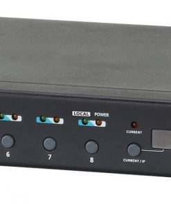 PE6208AV-AT-G-Aten 8 Port 1U 16A Smart PDU - Bank level metering with outlet control