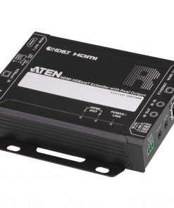 VE814AR-AT-U-Aten HDBaseT HDMI  Receiver with Dual 4K Output with one local HDMI output (4K@70m over Cat 5e/6 and 100m over Cat6a