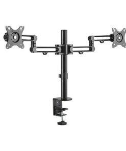"""LDT30-C024-Brateck  Dual Monitor Premium Aluminum Articulating Monitor Arm for 17""""-32"""""""
