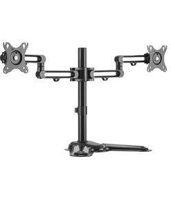 LDT30-T024-Brateck Dual Monitor Premium Articulating Aluminum Monitor Stand