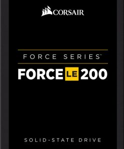 "CSSD-F120GBLE200-Corsair Force LE200 120GB 2.5"" SATA III SSD - TLC 550/500 MB/s 55/40K IOPS 7mm LS"