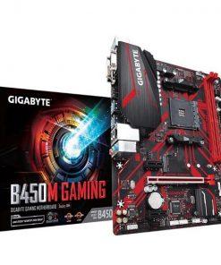 GA-B450M-GAMING-Gigabyte B450M GAMING AMD Ryzen Gen2 mATX 2xDDR4 3xPCIe HDMI 1xM.2 4xSATA RAID GbE LAN 6xUSB3.1 6xUSB2.0 RGB