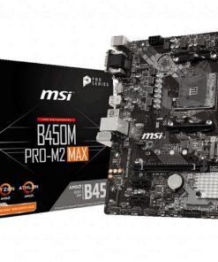 B450M PRO-M2 MAX-MSI B450M PRO-M2 MAX AMD M-ATX Motherboard AM4 Ryzen 2xDDR4 3xPCIE 1xM.2 6xUSB3.2 6xUSB2.0 1xDVI-D 1xVGA 1xHDMI