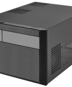 G410SG11B000020-Silverstone SG11 mATX SFF Case Black Colour Supports ATX PSU (LS)