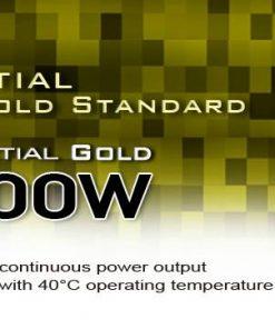 G540ST500ESG420-500W Silverstone 80+ Gold PSU ATX/ PS2 Black Casing