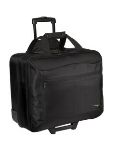 "TCG717GL-Targus 17.3"" CityGear III Horizontal Roller Laptop Case for Travel - Black"