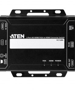 VC1280-AT-U-Aten 2 Port 4K 30Hz HDMI/VGA to HDMI Converter Switch