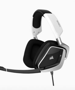 CA-9011204-AP-Corsair VOID Elite White USB Wired Premium Gaming Headset with Dolby® Headphone 7.1 AUDIO