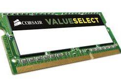 CMSO8GX3M1C1600C11-Corsair 8GB (1x8GB) DDR3L SODIMM 1600MHz 1.35V 9-9-9-24 204pin Notebook Memory