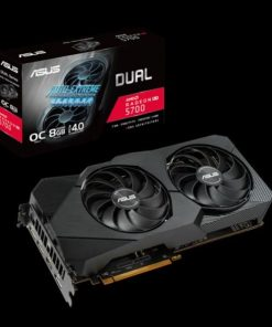 DUAL-RX5700-O8G-EVO-ASUS AMD Radeon™ Dual RX 5700 EVO OC edition 8GB GDDR6 1565 MHz /1750 MHz 7680x4320