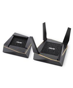 RT-AX92U AiMesh pack (2Pack)-ASUS RT-AX92U AiMesh pack (2Pack) AX6100 Tri-band Wi-Fi 6 (802.11ax) Router