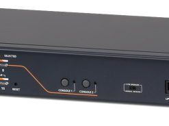 KH2516A-AX-U-Aten 2 Console 16 Port Rackmount Cat5 Matrix KVM Switch with Daisy Chain