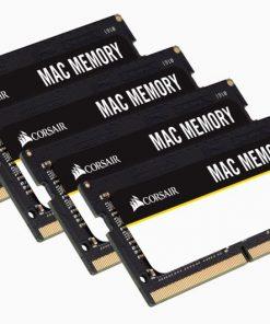 CMSA64GX4M4A2666C18-Corsair 64GB (4x16GB) DDR4 SODIMM 2666MHz 1.2V Memory for Mac Memory RAM