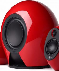 E235-RED-Edifier E235 Luna E 2.1 Home Entertainment/Gaming System Bluetooth Speaker RED - BT/3.5mm/Optical 5.8G Wireless Subwoofer/174W RMS/Optical input