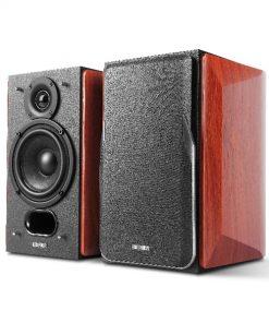 P17-Edifier P17 Passive Bookshelf Speakers - Premium Wooden Enclosures/3/4inch Silk Dome Tweeters/4inch Bass Drivers/Wall-mount Brackets