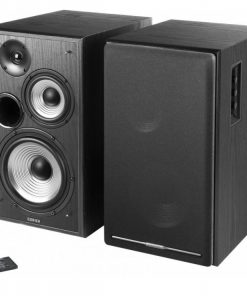 R2750DB-BLACK-Edifier R2750DB Active 2.0 Speaker System with Sophisticated Sound in a Tri-amp Audio - Bluetooth Connection 1/2inch Bass Driver 136W RMS System BLACK
