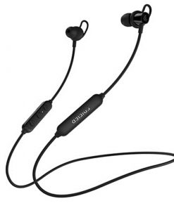 W200BT-BK-Edifier W200BT Magnetic Bluetooth V5.0 Earbuds Stereo Waterproof Sport in-ear Wireless Earphone with Microphone - Black