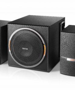 XM3BT-Edifier XM3BT 2.1 Bluetooth Multimedia Speakers - BT4.1/3.5mmAUX/USB/SD/FM Radio Turner/ LED Lighting Effect/ 38W RMS/MDF Wooden Enclosure