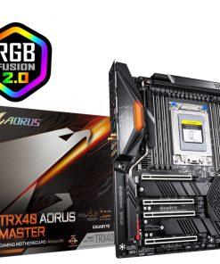 GA-TRX40-AORUS-MASTER-New Gigabyte TRX40 Aorus Master E-ATX MB sTRX40 AMD ThreadRipper 3 8xDDR4 5xPCIe 3xM.2 RAID Intel GbE LAN WiFi BT 8xSATA CF/SLI 2xUSB-C 9xUSB3.2 RGB2