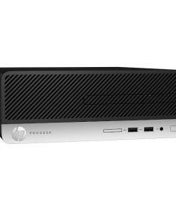 8JT44PA-HP ProDesk 400 G6 SFF I5-9500 8GB 256GB SSD W10P64 DVDRW 2DP VGA Intel630 1YR WTY Desktop PC (8JT44PA)