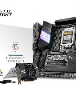 Creator TRX40-MSI TRX40 Creator ATX MB TRX4 AMD ThreadRipper 3 8xDDR4 4xPCIe 3xM.2 RAID 1xIntel GbE LAN WiIFi BT CF/SLI 15xUSB3.2 4xUSB2.0 6xSATA RGB