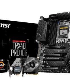 TRX40 PRO 10G-MSI TRX40 PRO10G ATX MB TR4 AMD ThreadRipper 3 8xDDR4 5xPCIe 2xM.2 RAID 2xIntel GbE LAN WiIFi BT CF/SLI 13xUSB3.2 4xUSB2.0 8xSATA RGB