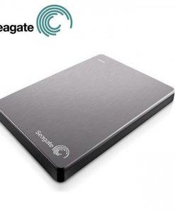 "STDR1000301-Seagate Backup Plus Slim 1TB 2.5"" Silver USB3.0 Slim Portable Drive. 3 Years Warranty"