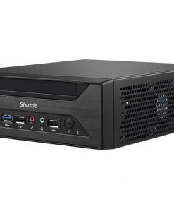 "XH110G-Shuttle XH110G Mini XPC - 3L H110 LGA1151 2xDDR4 SODIMM 1x2.5"" 2xM.2 4K Dual Displays HDMI VGA 1xPCIEx16 GbE LAN 24/7 0-50⁰C VESA 2xSerial Port WoL"