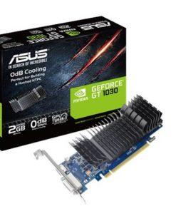 GT1030-SL-2G-BRK-Asus nVidia GT1030-SL-2G-BRK PCIe Card GDDR5 8K 7680x4320 1xHDMI 1xDVI 1455/1354 MHz