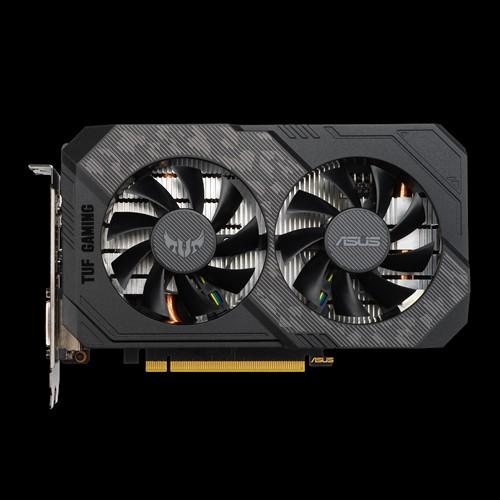 TUF-GTX1660S-O6G-GAMING-ASUS nVidia Super TUF-GTX1660S-O6G-GAMING GeForce GTX1660S OC 6GB Graphics Card - 1 Fan