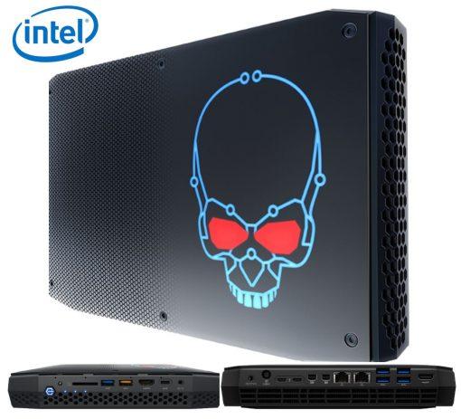 BOXNUC8I7HVKVA4-Intel NUC mini PC i7-8809G 4.2GHz Radeon RX Vega M GH 16GB DDR4 1TB NVMe SSD Win10 Home 2xmDP 2xThunderbolt 6xDisplays 2xGbE LAN WiFi BT 13xUSB