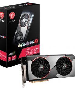 RX 5700 XT GAMING X-MSI AMD Radeon RX 5700 XT Gaming X  8G GDDR6 PCIe 4.0 Graphics Card 7680x4320 4xDisplays 3xDP HDMI 1925/1630 MHz TORX FAN3.0 auto-tuning