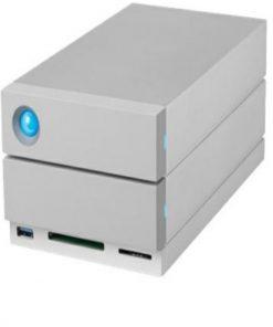 STGB8000400-Seagate LaCie 8TB 2BIG Thunderbolt 3 STGB8000400  - Hard drive array  - 2 bays (SATA) - HDD 4 TB x 2 - USB 3.1
