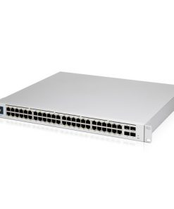 USW-Pro-48-POE-AU-Ubiquiti UniFi 48 port Managed Gigabit Layer2 and Layer3 switch with auto-sensing 802.3at PoE+ and 802.3bt PoE - Touch Display - 660W