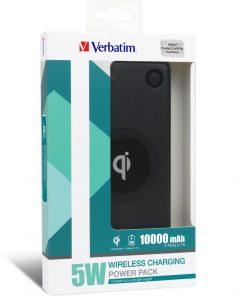 65934-Verbatim Li-polymer Qi 5W Wireless Charging Power Pack 10