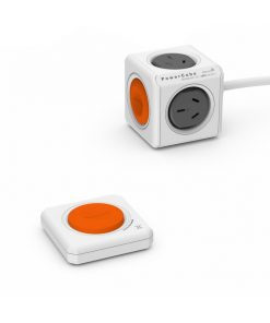 POWERCUBE-1562-ALLOCACOC POWERCUBE Extended 4 Outlets with Remote Control