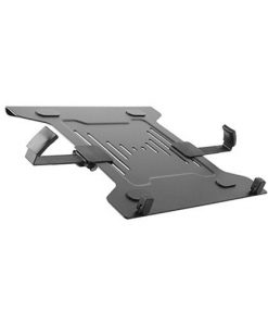 "NBH-2-Brateck STEEL LAPTOP HOLDER Fits10""-15.6"" for most desk mounts with standard 75x75/100x100 VESA plate"