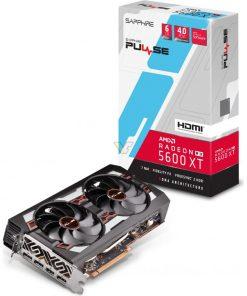 11296-01-20G-SAPPHIRE AMD RADEON PULSE RX 5600 XT 6G GDDR6 HDMI / TRIPLE DP OC W/BP (UEFI)